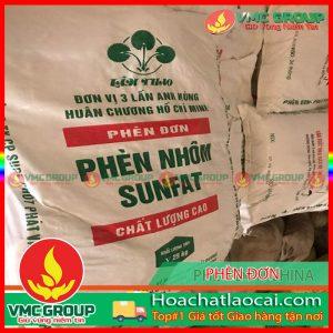Phèn đơn – Nhôm Sulfate – Aluminium sulfate Al2(SO4).18H2O HCLC