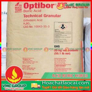 AXIT BORIC (H3BO3) 99,5% MỸ HCLC