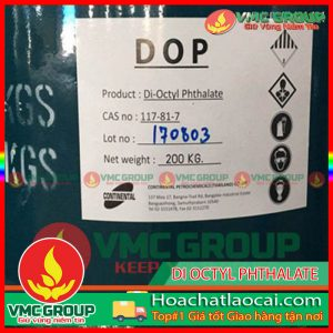 DOP – DI OCTYL PHTHALATE C21H38O4 HCLC