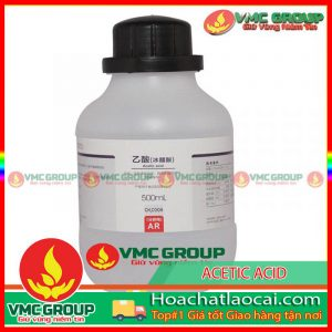 ACETIC ACID – C2H4O2 or CH3COOH HCLC