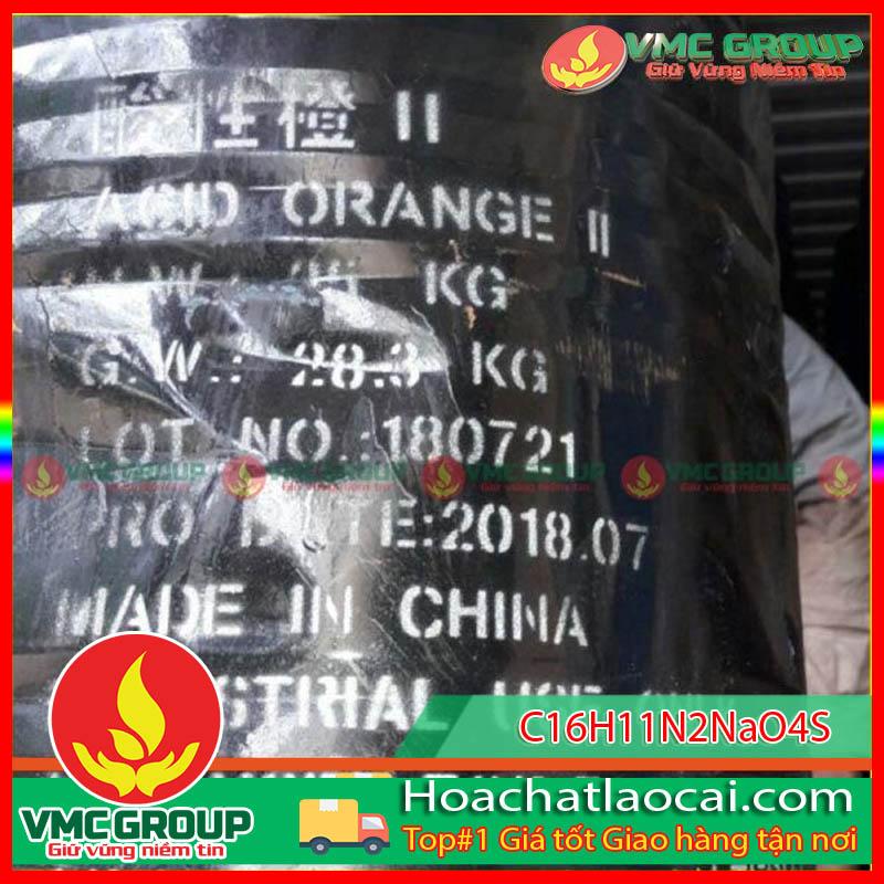 C16H11N2NaO4S – ACID ORANGE – VÀNG HIÊN HCLC