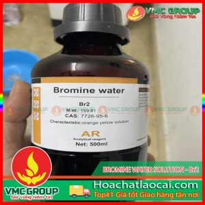 BROMINE WATER SOLUTION - Br2