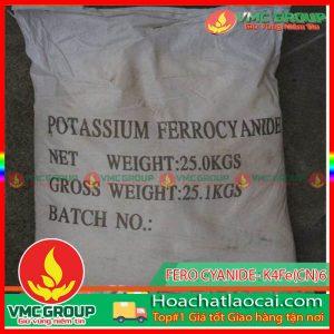 POTASSIUM FERO CYANIDE – K4Fe(CN)6 HCLC