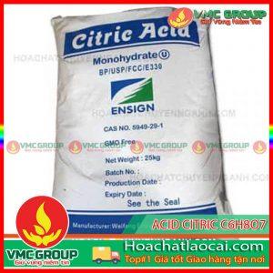 ACID CITRIC – C6H8O7 HCLC