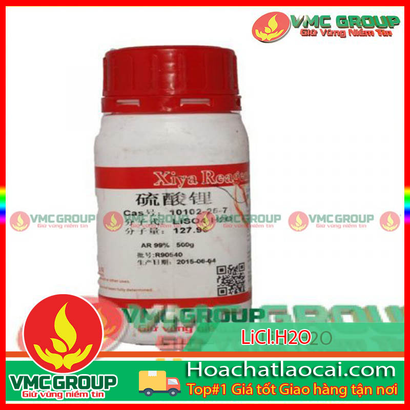 LITHIUM CHLORIDE MONOHYDRATE – LiCl•H2O HCLC