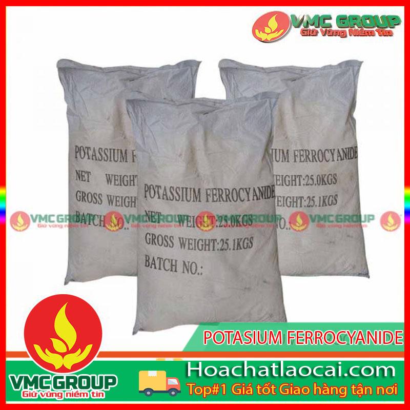 POTASIUM FERROCYANIDE – K4Fe(CN)6·3H2O HCLC