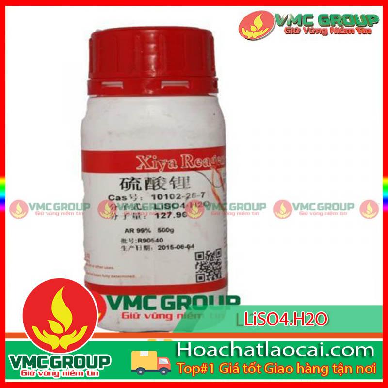 LITHIUM SULFATE HYDRATE AR 99% – Li2SO4•H2O HCLC