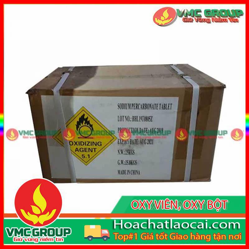 OXY VIÊN OXY BỘT SODIUM PERCACBONAT HCLC