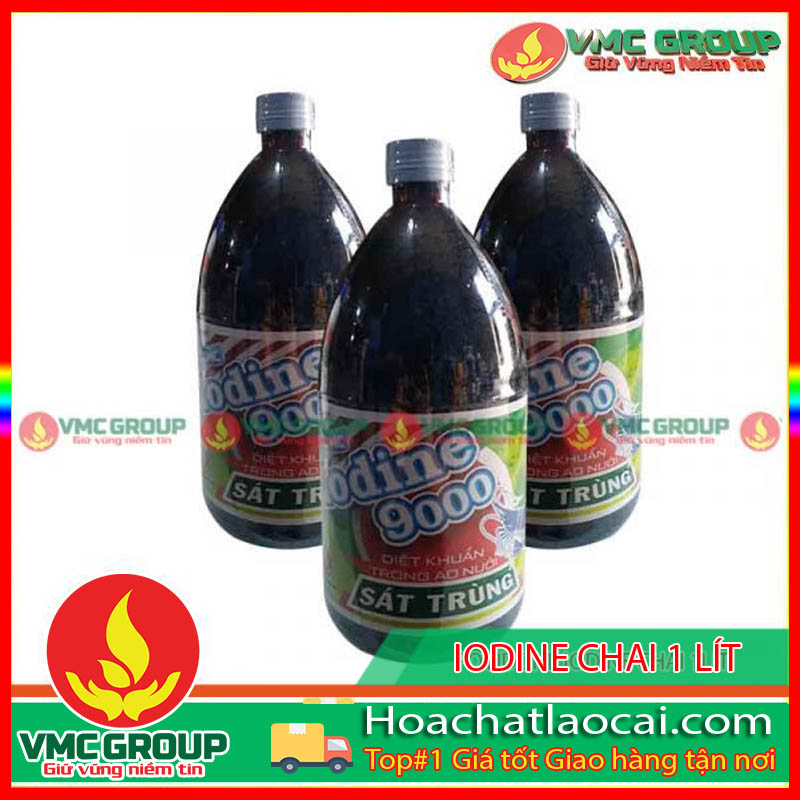 HÓA CHẤT THỦY SẢN VMC IODINE 9000 HCLC