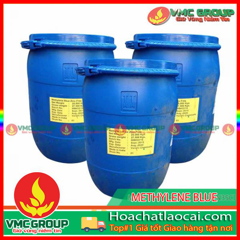 XANH METHYLENE BLUE – C16H18N3SCl HCLC
