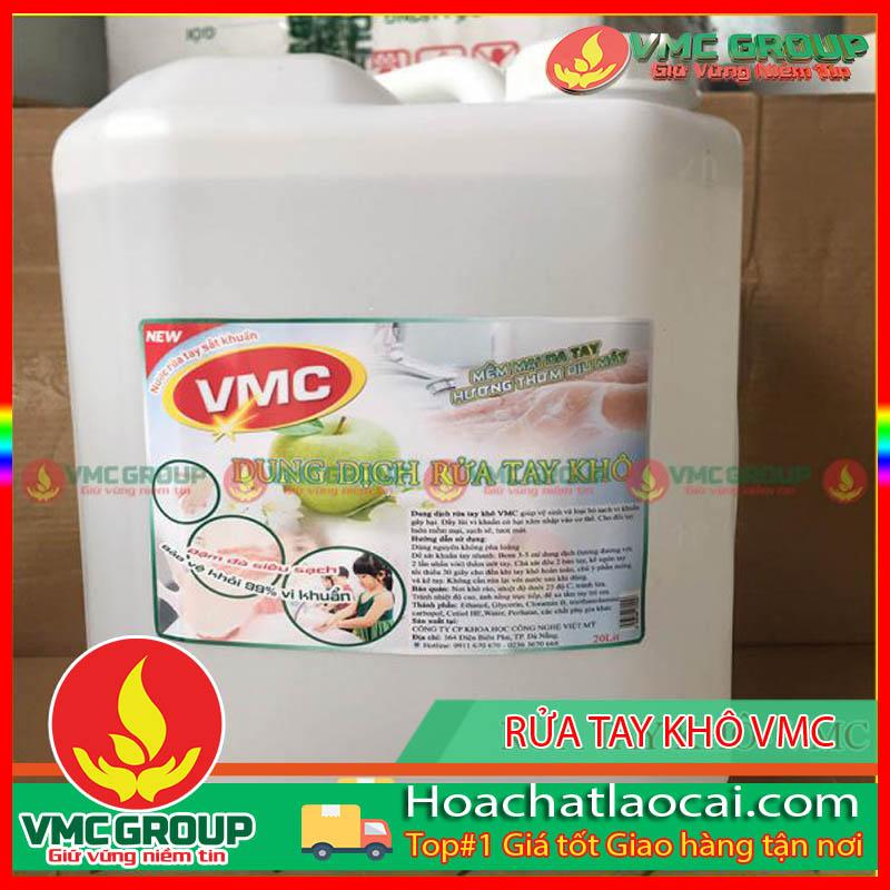DUNG DỊCH RỬA TAY KHÔ SÁT KHUẨN VMC CAN 4.5LIT- HCLC