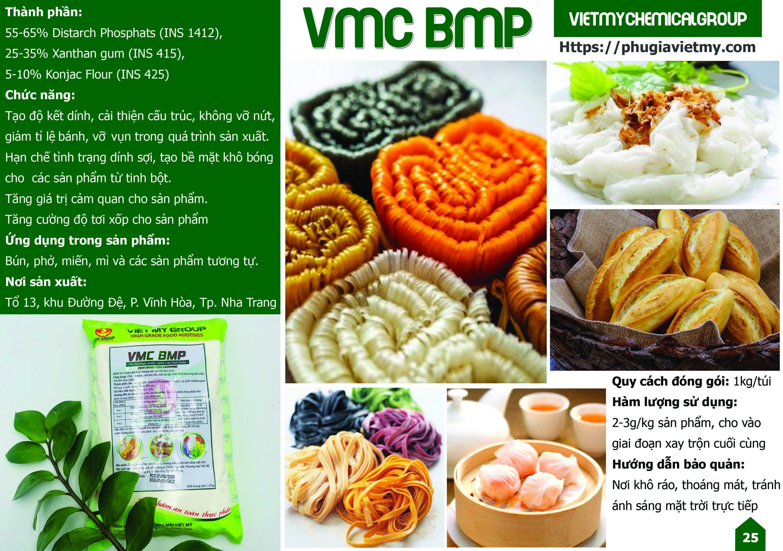 Bạn đang quan tâm đến các sản phẩm phụ gia dùng cho bún, mì phở và các loại bánh làm từ tinh bột. Liệu chúng có ảnh hưởng gì đến sức khỏe của người tiêu dùng?
